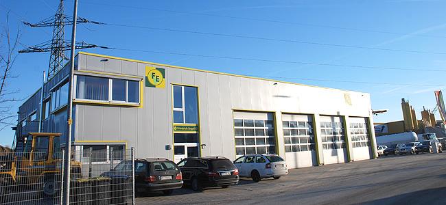 Bauhof mit Maschinenpark